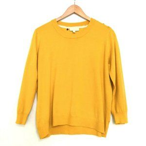 ModCloth Marigold Sweater 3/4 Sleeves Thin Knit
